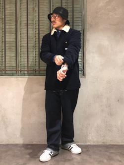 ルミネエスト新宿店のHibikiさんのLeeの【おうち時間応援セール】ボア ロコジャケット【ユニセックス】を使ったコーディネート