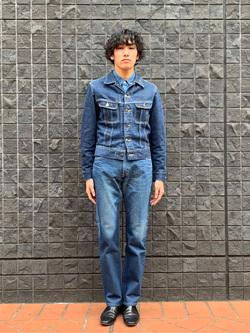 大阪店のスミタさんのLeeの【Winter sale】AMERICAN RIDERS 101Z ストレートジーンズを使ったコーディネート