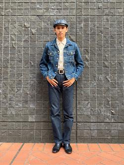 大阪店のスミタさんのLeeの101J デニムジャケットを使ったコーディネート
