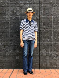 大阪店のShotaさんのLeeのAMERICAN RIDERS 102 ブーツカットジーンズを使ったコーディネート