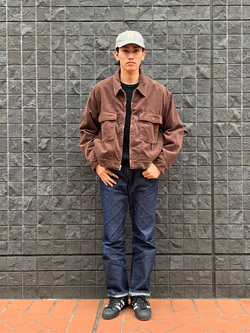 大阪店のスミタさんのLeeの【再値下げ Winter sale】【セットアップ対応】チェトパ ジャケットを使ったコーディネート