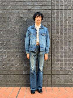 大阪店のスミタさんのLeeの【Winter sale】101 PROJECT RIDERS JACKETを使ったコーディネート