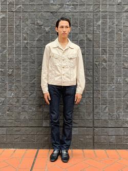 大阪店のスミタさんのLeeのARCHIVES 60S 100J WESTERNER JACKETを使ったコーディネート