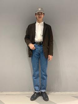 大阪店のスミタさんのLeeのAMERICAN STANDARD 201 ストレートジーンズを使ったコーディネート