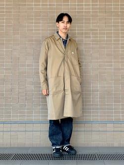 ルクア大阪のスミタさんのLeeの【試着対象】サービスコートを使ったコーディネート