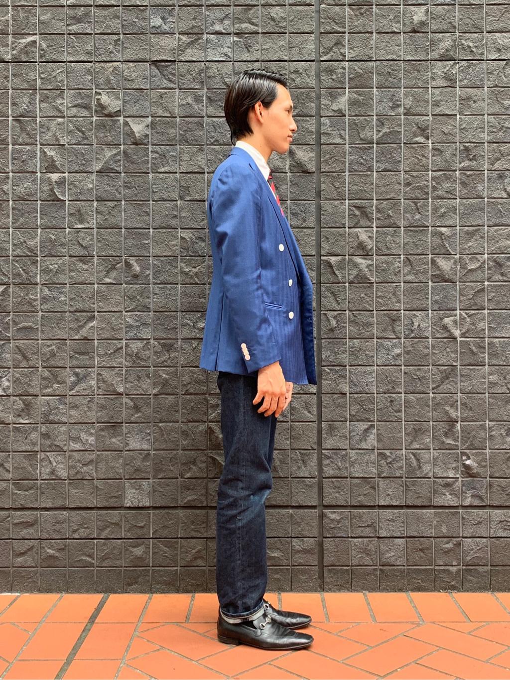 大阪店のスミタさんのLeeのAMERICAN RIDERS 101Z ストレートジーンズを使ったコーディネート