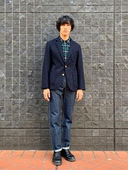大阪店のスミタさんのLeeの【Winter sale】AMERICAN RIDERS 101B ストレートジーンズを使ったコーディネート