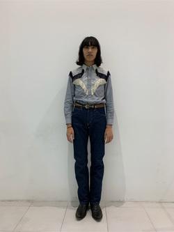 大阪店のShotaさんのLeeのAMERICAN RIDERS 101Z ストレートジーンズを使ったコーディネート