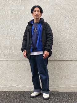 大阪店のサカモトヒロシさんのLeeのARCHIVES 40S 11W ペインターパンツを使ったコーディネート
