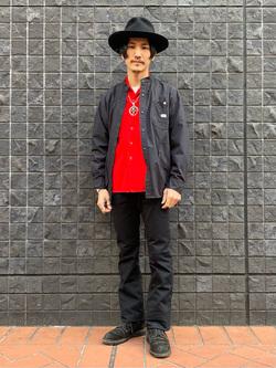 大阪店のサカモトヒロシさんのLeeのAMERICAN RIDERS 102 ブーツカット(ツイル)を使ったコーディネート