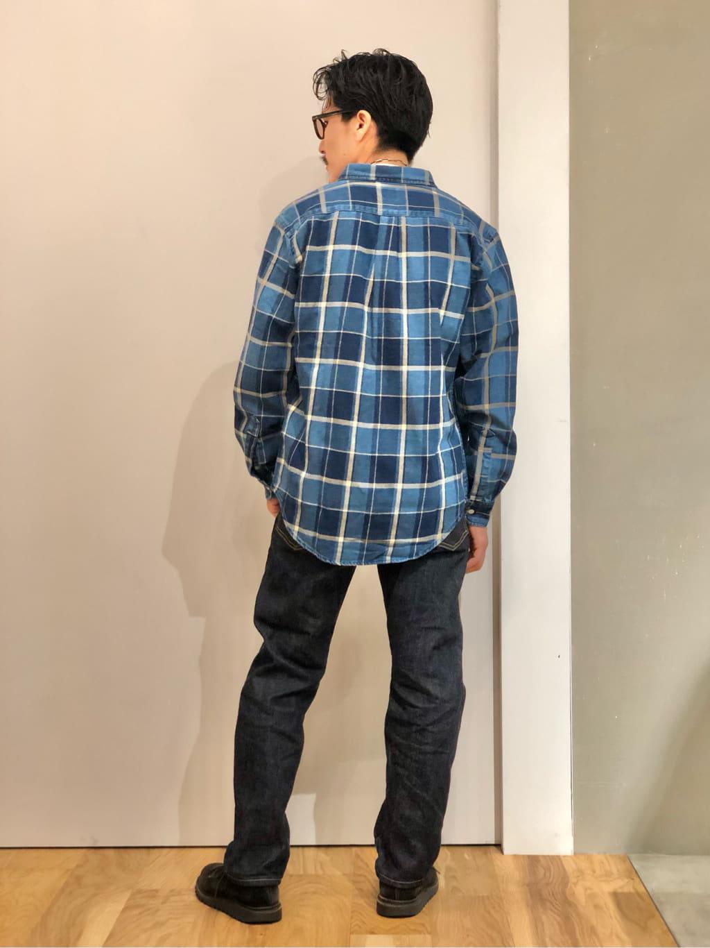 LINKS UMEDA店のサカモトヒロシさんのEDWINのレギュラーシャツ 長袖(チェック)を使ったコーディネート