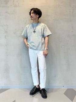大阪店のサカモトヒロシさんのLeeのAMERICAN RIDERS 101Z ストレート(ツイル)を使ったコーディネート