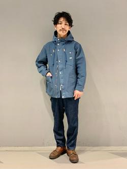 大阪店のサカモトヒロシさんのLeeのマウンテンパーカー/ジャケットを使ったコーディネート