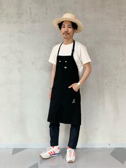 大阪店のサカモトヒロシさんのLeeの【Lee×GRAMICCI(グラミチ)】ペインターパンツを使ったコーディネート