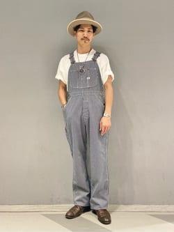 大阪店のサカモトヒロシさんのLeeの【SALE】ポケット付き 半袖Tシャツを使ったコーディネート