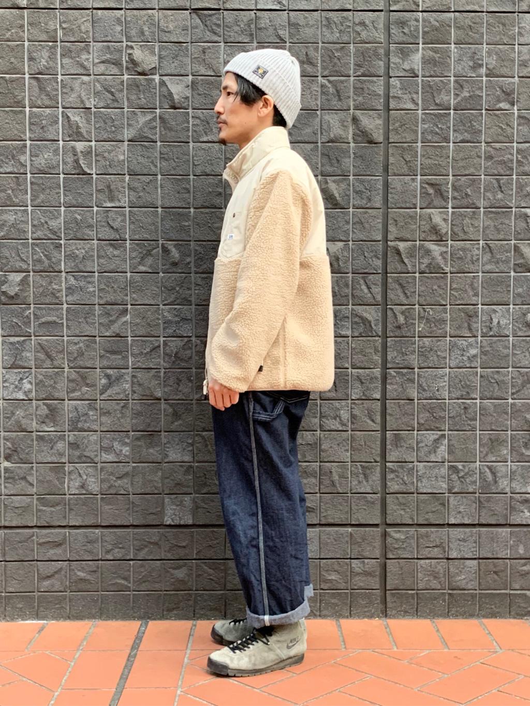 大阪店のサカモトヒロシさんのLeeの【ユニセックス】フリースジップアップジャケットを使ったコーディネート