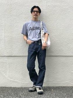 大阪店(閉店)のサカモトヒロシさんのLeeの【Archives】WWII 大戦モデル101 COWBOY PANTSを使ったコーディネート