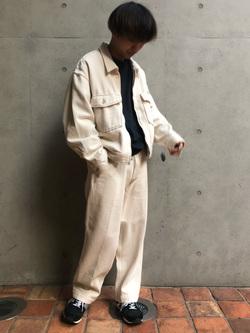 Lee アミュプラザ博多店のTaigaさんのLeeの【セットアップ対応】チェトパ ジャケットを使ったコーディネート
