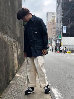 Lee アミュプラザ博多店のTaigaさんのLeeのARCHIVES 50S 91-J ロコジャケットを使ったコーディネート
