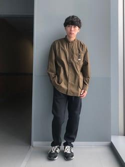 Lee アミュプラザ博多店のTaigaさんのLeeのビッグポケット シャツジャケットを使ったコーディネート