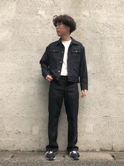 Lee アミュプラザ博多店のTaigaさんのの【セットアップ対応】ジャケットを使ったコーディネート