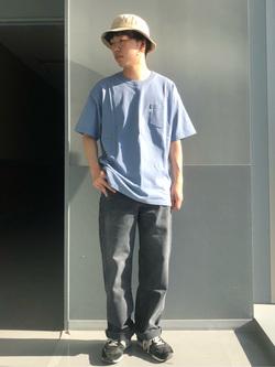 Lee アミュプラザ博多店のTaigaさんのLeeの【otonaMUSE掲載】【毎日履きたい】ボーイズストレートパンツを使ったコーディネート