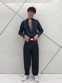 熊本COCOSA店のhironoriさんのLeeの終了BUDDY LEE ライダーパンツ【ユニセックス】を使ったコーディネート