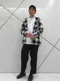 熊本COCOSA店のhironoriさんのLeeの【さらっと羽織れる】シャツジャケットを使ったコーディネート