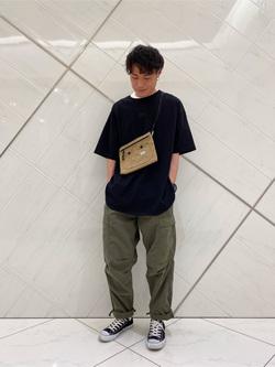 熊本COCOSA店のhironoriさんのLeeの終了【再値下げ!サマーセール】エンブロイダリーTシャツを使ったコーディネート