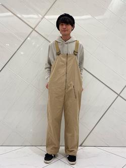 熊本COCOSA店のhironoriさんのLeeのミリタリー オーバーオールを使ったコーディネート