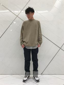 熊本COCOSA店のhironoriさんのLeeのAMERICAN RIDERS 101Z ストレートジーンズを使ったコーディネート