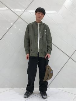 熊本COCOSA店のhironoriさんのLeeの【直営店・WEB限定】ビッグポケット シャツジャケットを使ったコーディネート