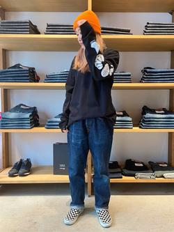 MINAMIHORIE店のもりおさんのEDWINの【コンセプトショップ限定】EDWIN EUROPE STRANGE OBJECTS TEEを使ったコーディネート