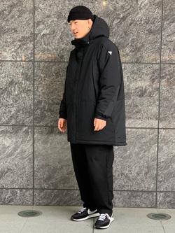 LINKS UMEDA店の数斗さんのEDWINの【再値下げ Winter sale】F.L.E ワイド テーパードを使ったコーディネート