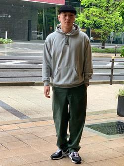 LINKS UMEDA店の中川 数斗さんのC17の【通販限定】C17 ワイドテーパードを使ったコーディネート
