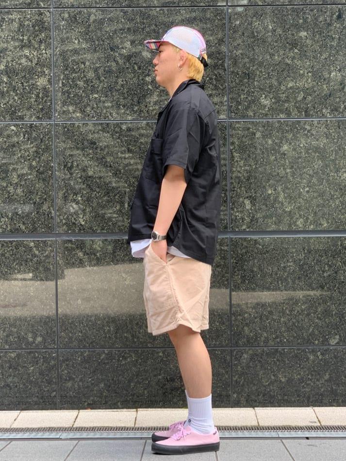 LINKS UMEDA店の中川 数斗さんのEDWINの【SALE】歩クール イージー8ポケット 半袖シャツを使ったコーディネート