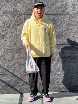 LINKS UMEDA店の数斗さんのEDWINのF.L.E ワイド テーパードを使ったコーディネート