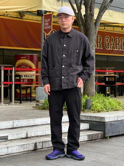 LINKS UMEDA店の中川 数斗さんのEDWINのジャージーズ COOL レギュラーストレートパンツ(MOTION DENIM)を使ったコーディネート