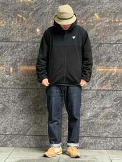 LINKS UMEDA店の数斗さんのEDWINの【再値下げ Winter sale】F.L.E ZIP UP ジャケットを使ったコーディネート