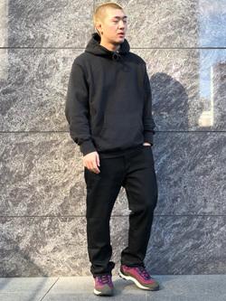 LINKS UMEDA店の数斗さんのEDWINのジャージーズ レギュラーストレート【スタンダードモデル】を使ったコーディネート