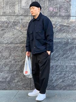 LINKS UMEDA店の数斗さんのEDWINのヘリンボーン CPO ジャケットを使ったコーディネート