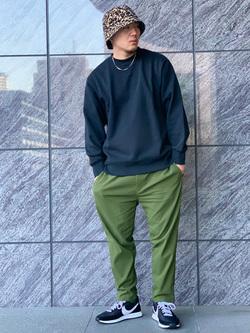 LINKS UMEDA店の数斗さんのEDWINの【直営店限定】クルーネックスウェット(ヴィンテージ仕様)を使ったコーディネート
