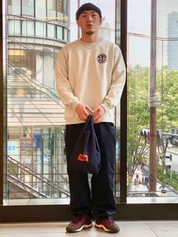 LINKS UMEDA店の数斗さんのEDWINの【直営店限定】ペインターパンツを使ったコーディネート