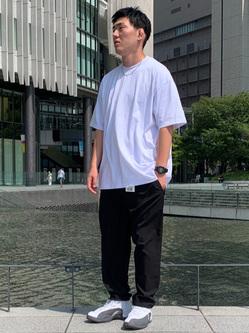 LINKS UMEDA店の中川 数斗さんのEDWINのF.L.E 722 トラウザーを使ったコーディネート