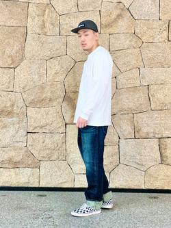 LINKS UMEDA店の中川 数斗さんのEDWINの503 レギュラーストレートを使ったコーディネート