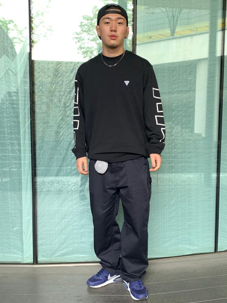 LINKS UMEDA店の数斗さんのEDWINの【Pre sale】【直営店限定】ペインターパンツを使ったコーディネート