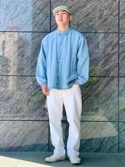 LINKS UMEDA店の中川 数斗さんのEDWINの【期間限定10%OFF】503 レギュラーストレートを使ったコーディネート