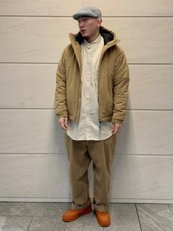 LINKS UMEDA店の数斗さんのEDWINの【再値下げ Winter sale】F.L.E エアーサックジャケット (二層防風)を使ったコーディネート