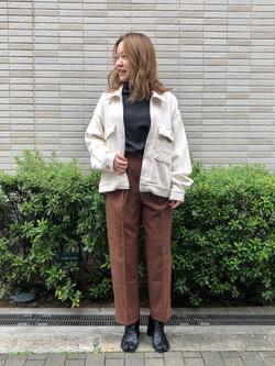 堀江店のチャンハタさんのLeeの【セットアップ対応】チェトパ ジャケットを使ったコーディネート