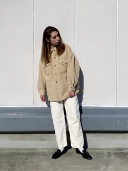 エスパル仙台店のeriさんのLeeの【再値下げ Winter sale】【ふっくらボア】CPO ジャケットを使ったコーディネート